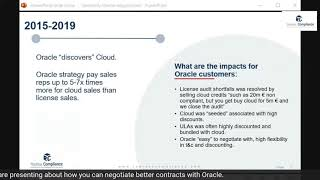 How Oracle failed with Cloud in the years 2015-2019