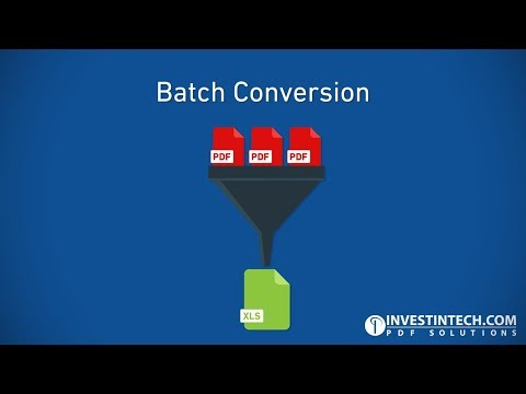 Able2Extract Professional 12: Batch Conversion