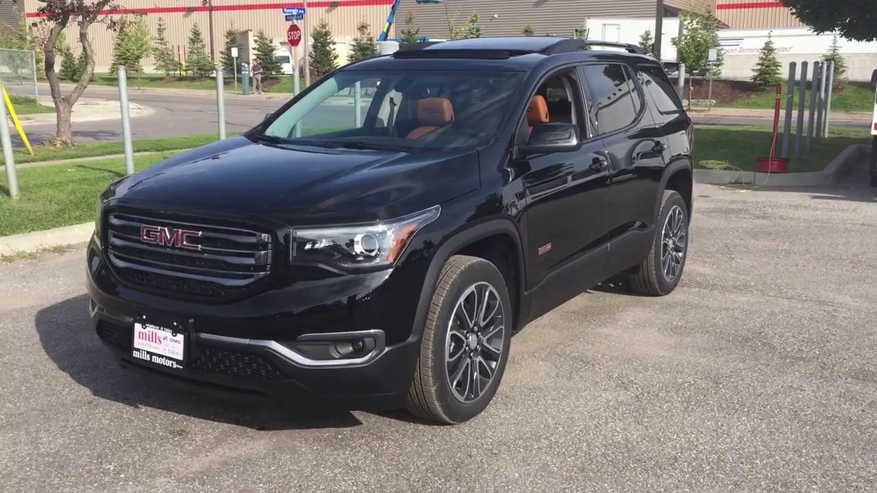 2018 GMC Acadia SLT AWD All Terrain Edition Black Oshawa ...