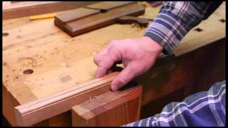 Making A Picture Frame With Molding Planes
