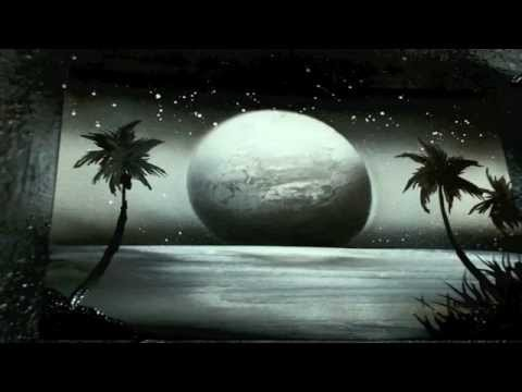 how to airbrush for beginners black and white planet - YouTube