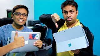 Tech Debate 🗣 #2 Apple or Surface Pro a Mistake? - Our Opinions Ft Geeky Ranjit