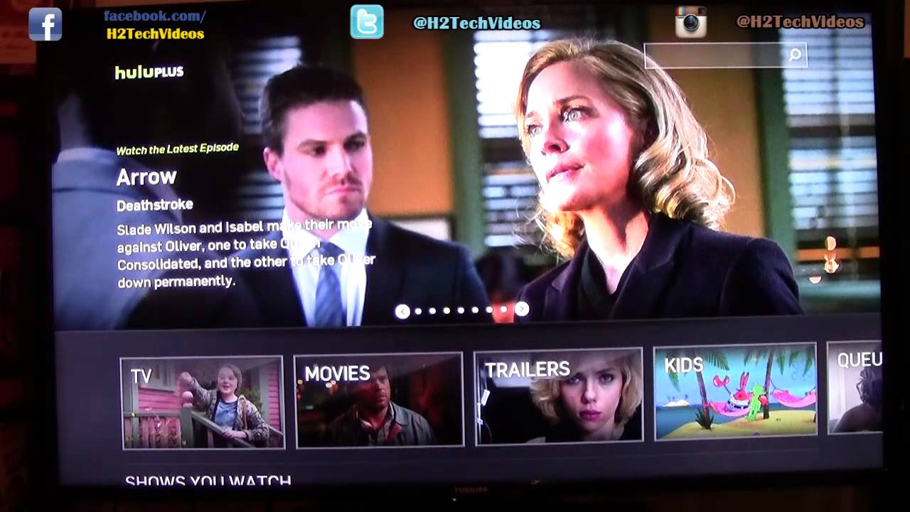 Hulu on Amazon Fire TV | H2TechVideos