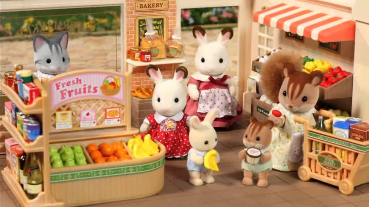 Sylvanian Families Supermarket - YouTube