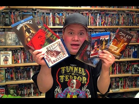 All Horror Blu-ray/Dvd Collection Update 2/20/15 : Blu-ray and Dvd Movie Reviews