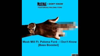 Meek Mill - ft. Paloma Ford - I Don