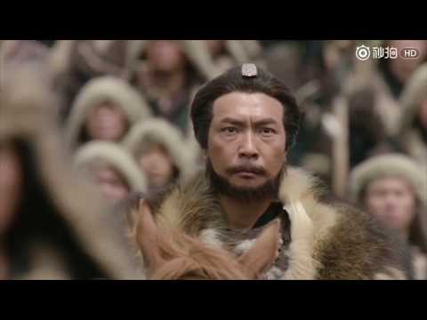 Genghis Khan Opening Battle Scene in The Condor Heroes! Awesome!