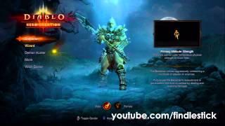 Diablo III (Demo): Unlock All Characters Glitch