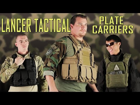 Plate Carrier For Any Body Type! Lancer Tactical Overview - Airsoft GI