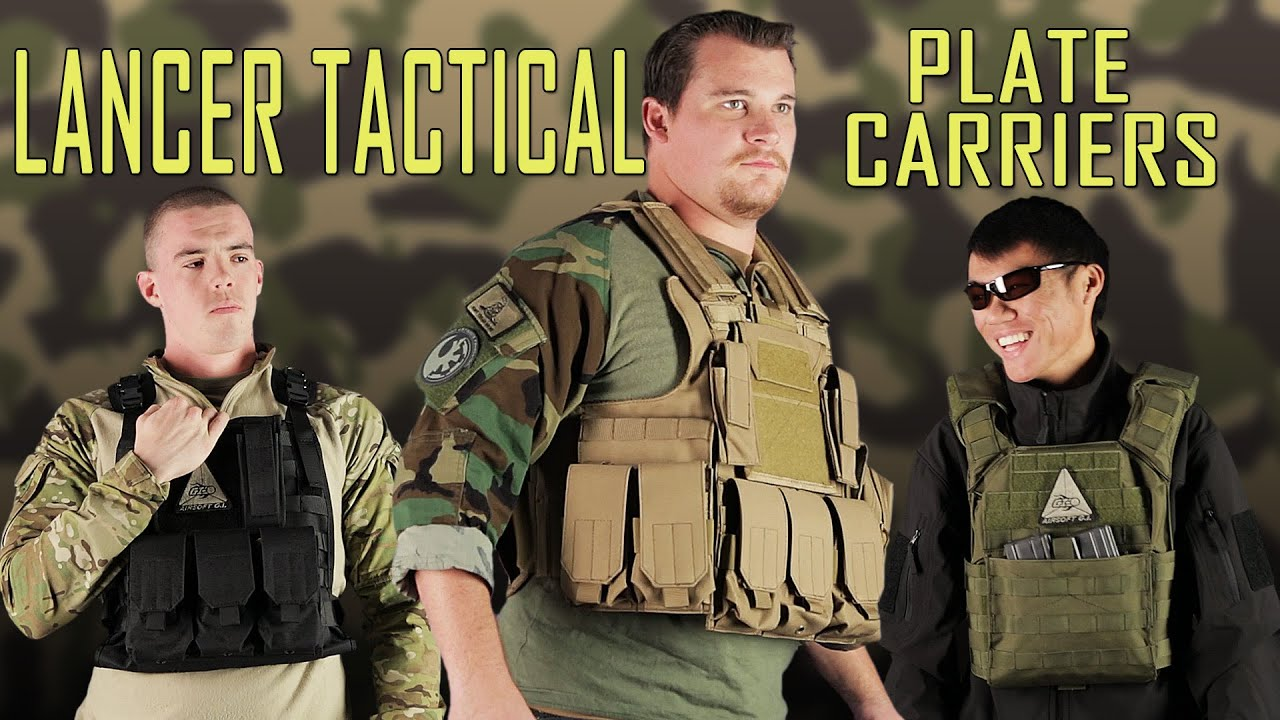 Download Plate Carrier For Any Body Type! Lancer Tactical Overview - Airsoft GI