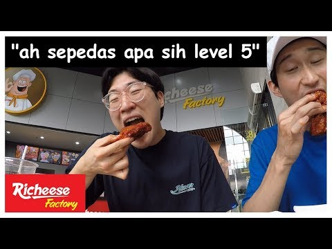 Oppa Alay Menyesal Makan Richeese Factory Level 5