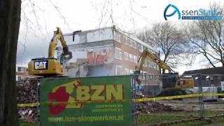 Sloop asbest-flats Lariks begonnen