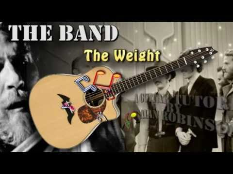 The Weight - The Band - Acoustic Guitar Lesson