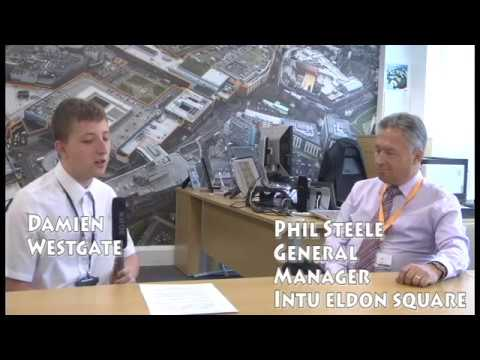 Interview with Intu Eldon Square's General Manager Phil Steele (SD)
