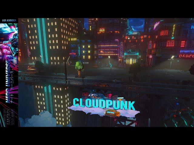 Cloudpunk - Ersteindruck zum Cyberpunk Lieferanten Game ✩ Gameplay & Story [Deutsch] 1440p