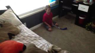 Mini Hockey League Season 1 Game 2  (Blackhawks VS Bruins