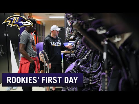 Hollywood Brown, Ravens Rookies React to Their First Day in the NFL | Baltimore Ravens