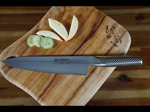 Chef's Knife Review #1 - Global 8 inch Chef's Knife! l Soulful Bowl
