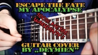Escape The Fate - My Apocalypse - Guitar Cover [HD]