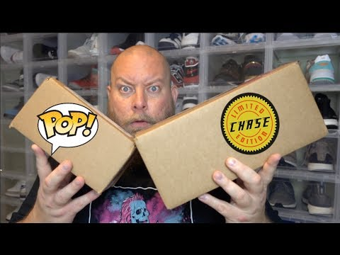 2 Funko Pop MYSTERY BOXES With Possible CHASES Inside + CHRONO TOYS HIGH ROLLER MYSTERY BOX!!