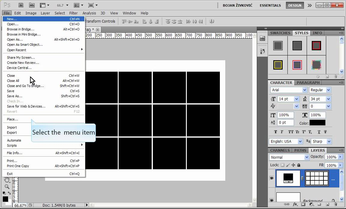 Step and repeat command in adobe photoshop youtube pronofoot35fo Image collections