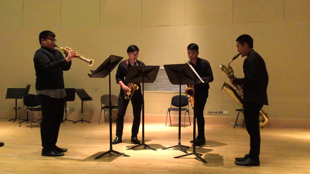 Grave at Presto by Jean Rivier [June Saxophone Quartet]