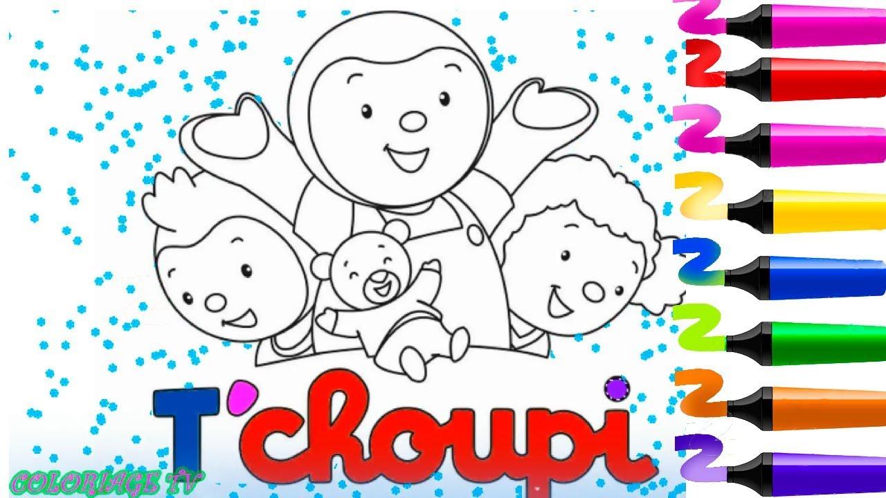Tchoupi Et Ses Amis Tchoupi A L Ecole Coloriage Tchoupi Et Ses Amis Et Doudou Youtube