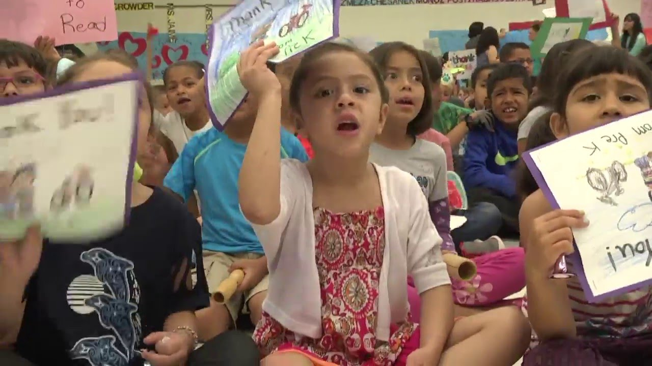 Ride For Reading At Roberts Elementary Youtube