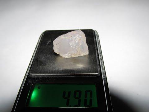 Алмазы под ногами? Как отличить алмаз от кварца.