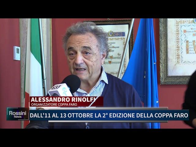 DALL' 11 AL 13 OTTOBRE LA 2 EDIZIONE DELLA COPPA FARO