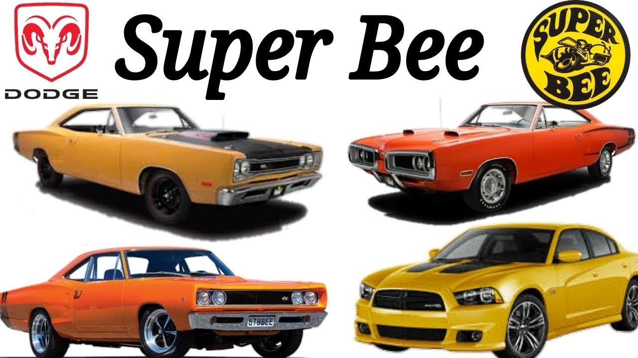 dodge super bee  1968-1980  2007-2013