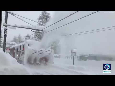 13,000 Trapped In Swiss Ski Resort After Heavy Snow