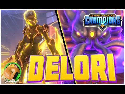 DUNGEON HUNTER CHAMPIONS: Delori The Light Dreadblade - Guild Wars | Harbinger