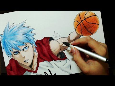 Speed Drawing - Kuroko Tetsuya (Kuroko no Basket)