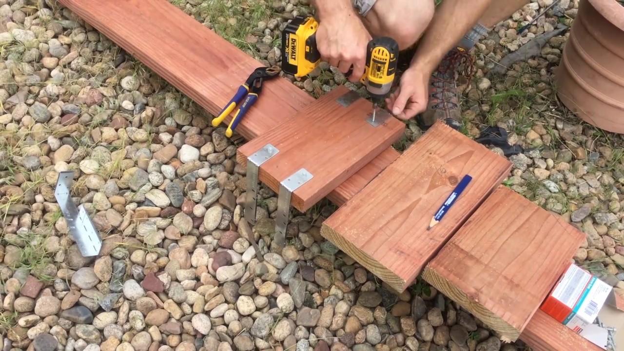Repair Wobbly Deck Railing - YouTube