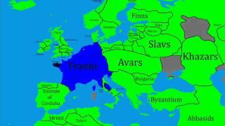 History of Europe Part 16 Frankish power!