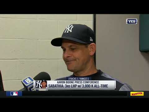 Aaron Boone on CC Sabathia's Hall of Fame career