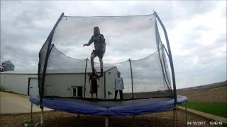 trampoline tricks part 2 song ajr come hang out
