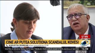 Fost președinte CCR, despre demiterea Laurei Codruța Kovesi. Cine ar putea soluționa scandalul ș