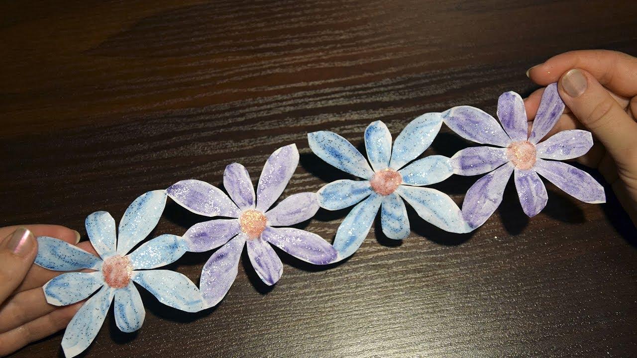 How To Make Flower Garland For Wedding DIY