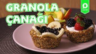Granola Çanaklarında Meyveli Yoğurt - Onedio Yemek - Sağlıklı Tarifler