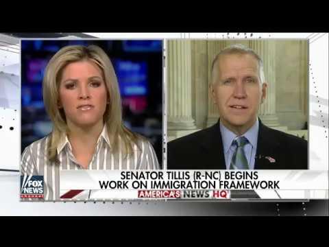 Senator Tillis Discusses Immigration Reform on Fox News