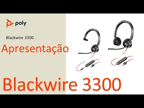 Poly Blackwire 3300 - Apresentação e Demonstração (Português)