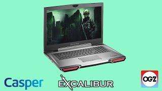 Casper Excalibur G800 Oyuncu Dizüstü İnceleme