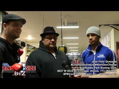 Jose Felix Quezada Headed to Miami to Fight on Black Wednesday