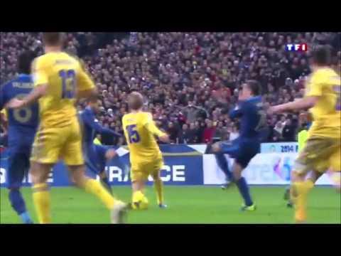France-Ukraine (3-0) Qualifications Coupe Du Monde 2014 au Stade de France -RMC