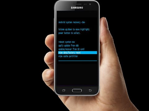 How To Hard Reset and Factory Reset Samsung galaxy j3 Smartphone