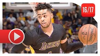 D'Angelo Russell Full Highlights vs Timberwolves (2017.03.24) - 15 Pts, 6 Assists