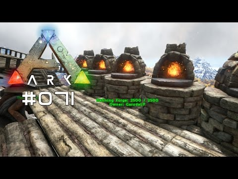 ark survival evloved h hlen metall gameplay let s doovi. Black Bedroom Furniture Sets. Home Design Ideas