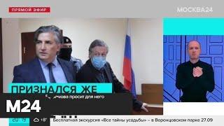 Новый адвокат Ефремова просит для него условный срок - Москва 24